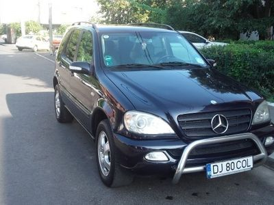 second-hand Mercedes ML270 2002
