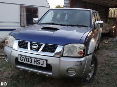 second-hand Nissan Navara 4X4 - an 2003, 2.5 (Diesel)