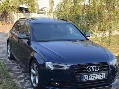 second-hand Audi A4 b8 avant s-line 177cp, panoramic,2013