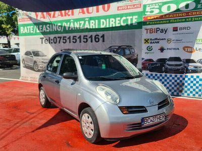 second-hand Nissan Micra 1.3 Benzina,2004,Finantare Rate