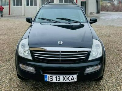 second-hand Ssangyong Rexton 2007 2.7 4x4 inm ro impecabil variante +/-