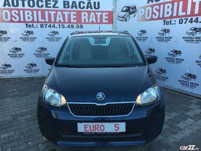 second-hand Skoda Citigo 2014-EURO 5-Benzina-Posibilitate RATE-