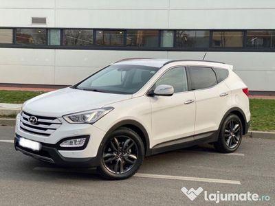 second-hand Hyundai Santa Fe full bixenon perdelute diferential