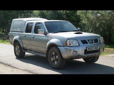 second-hand Nissan Navara 4x4, 2.5 Diesel, an 2003