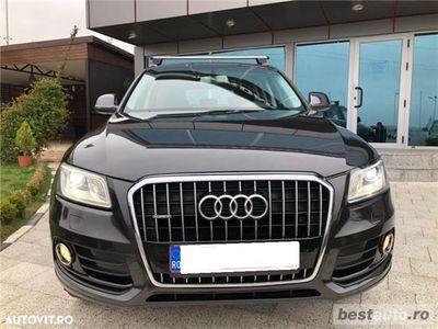 brugt Audi Q5 Quattro / 2.0 TDi 190 CP / Leduri / Bi- Xenon / Piele Maro / Navigatie .