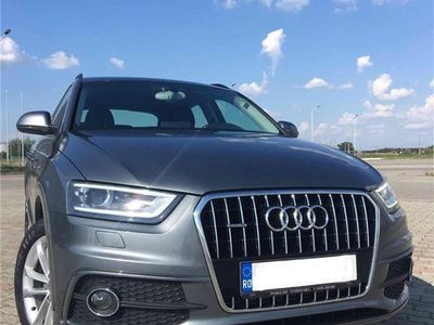 second-hand Audi Q3 2.0 TDI, quattro, S line, unic proprietar