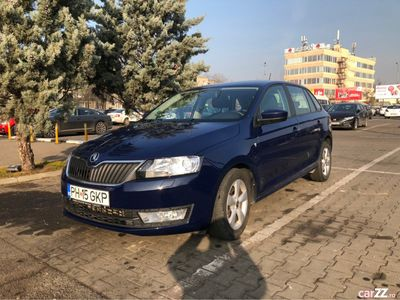 second-hand Skoda Rapid 1.6 TDI, 105 CP, 2015, Euro 5, TVA Deductibil