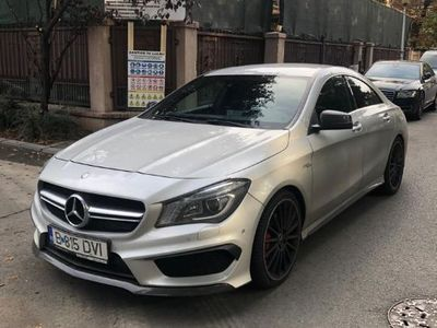second-hand Mercedes CLA45 AMG