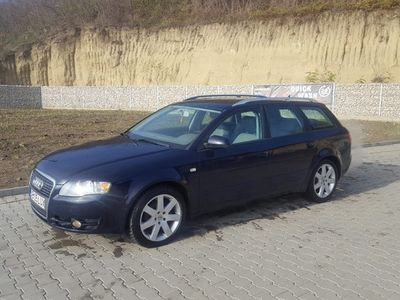 second-hand Audi A4 variant.