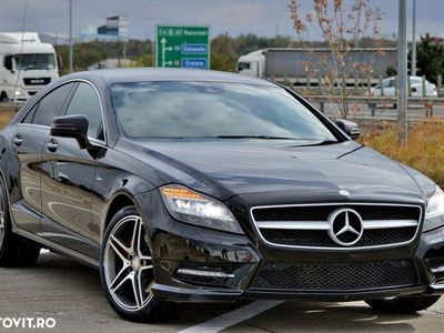 second-hand Mercedes CLS350 cdi (265cp) 4MATIC 4x4 AMG fabrica, An 2012