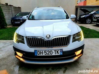 second-hand Skoda Superb Scout 4x4,2015,2.0 diesel,170 cai,manuala,full.