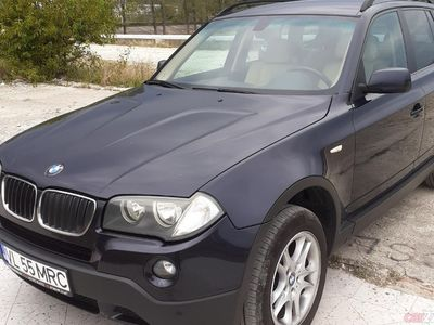 second-hand BMW X3 4x4 E83 2,0 d inmatriculat ro