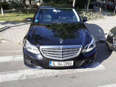 second-hand Mercedes E200 model 2014