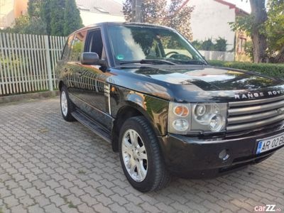 second-hand Land Rover Range Rover vogue cutia defecta 3.0 d variante