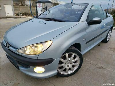 second-hand Peugeot 206 CC,motor 1.6,impecabila,decapotabila electric,import Germania