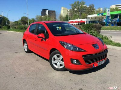 second-hand Peugeot 207 euro5 an 2011,led,1,4 benzina,60.000 km,stare ff