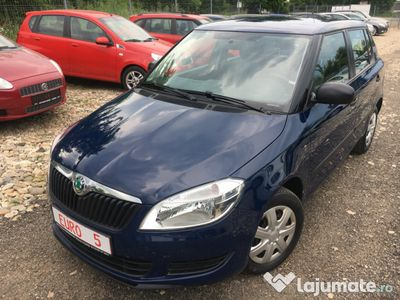 second-hand Skoda Fabia 2011- euro 5 -posibilitate rate-