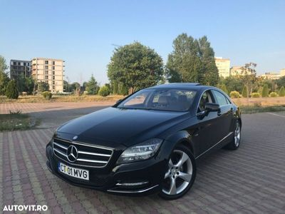 second-hand Mercedes CLS350 / 3.0 CDI 265 CP / Trapa / Suspensie Pneumatica / Night-Vision / Led-uri