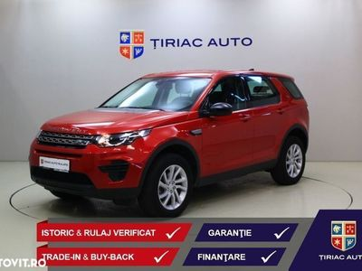 second-hand Land Rover Discovery Sport 2.0 l TD4 132KW/180CP, HSE