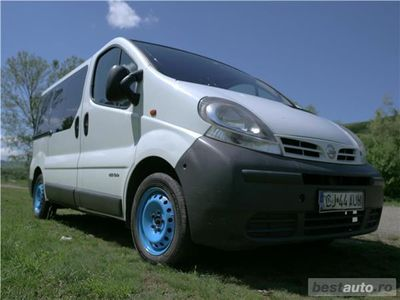 second-hand Nissan Primastar identica cu Renault Trafic si Opel Vivaro 5700 euro negociabil