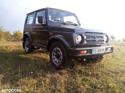 second-hand Suzuki Samurai 4x4 - an 1997, 1.3 (Benzina)