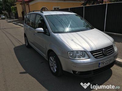 second-hand VW Touran 7 locur 1.9 tdi