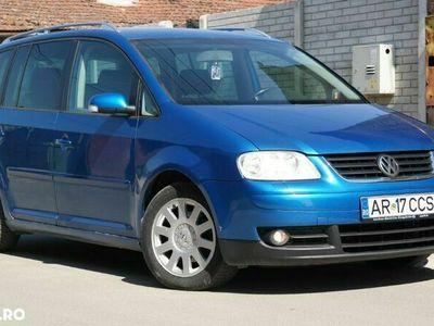 second-hand VW Touran 7 Locuri - an 2004, 2.0 Tdi (Diesel)
