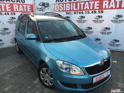 second-hand Skoda Roomster 2012-Benzina-90000 Km-Posibilitate rate-