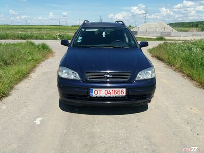 second-hand Opel Astra 1.6 benzina,numere valabile 3 luni