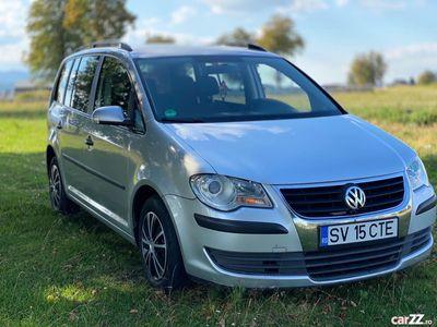 second-hand VW Touran 1.9 tdi 7 locuri