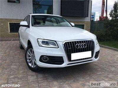 used Audi Q5 Quattro / 2.0 TDi 190 CP / Navigatie Mare / Padele Volan / Tapiterie Piele.