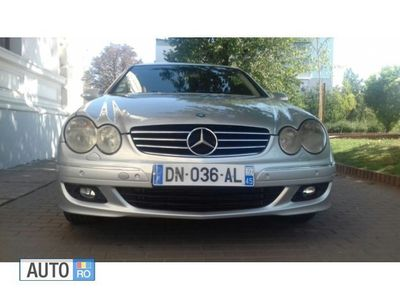second-hand Mercedes CLK270 2 ușii si 4 locu
