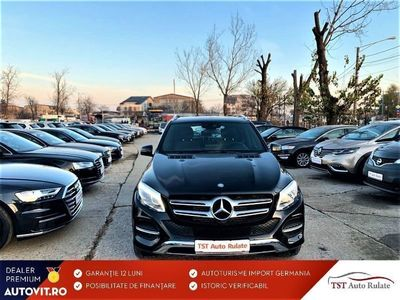 second-hand Mercedes GLE350 din 2016