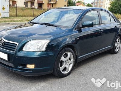 second-hand Toyota Avensis D4D 2.0 diesel EURO 4, inmatriculat unic prop