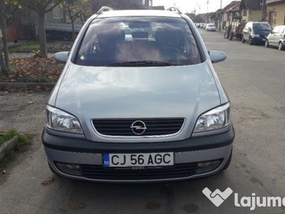second-hand Opel Zafira an 2001 dizel 1998cm clima 7 locuri