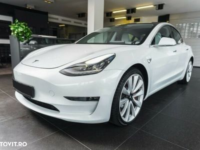 second-hand Tesla Model 3