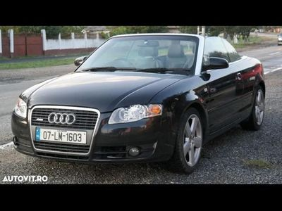 second-hand Audi A4 Cabriolet S-line - an 2007, 2.0 Tdi (Diesel)