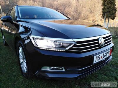 second-hand VW Passat B8 DSG RAR EFECTUAT Editie Contfortline 2016 TDi 150cp.
