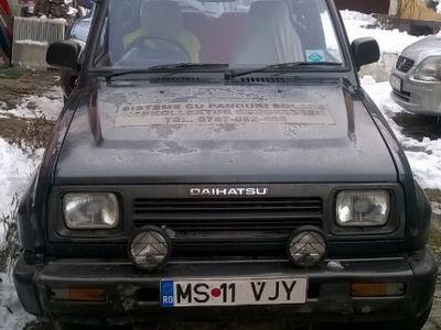 second-hand Daihatsu Rocky - Benzina + GPL - Volan pe dreapta