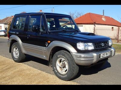 second-hand Hyundai Galloper 4x4