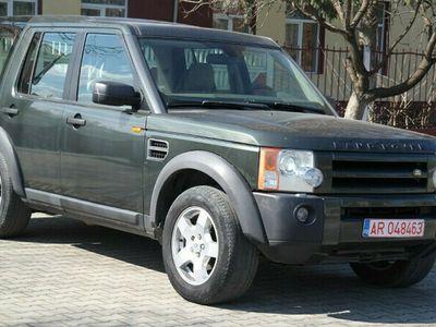 second-hand Land Rover Discovery 3 7 Locuri 4x4 AUTOUTILOTARA - an 2006