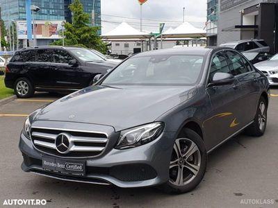 brugt Mercedes E220 4MATIC Limuzina