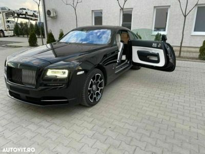 second-hand Rolls Royce Wraith Black