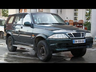 second-hand Ssangyong Musso 4x4
