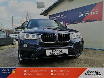 second-hand BMW X3 XDRIVE AUTOMAT 2.0D 190CP