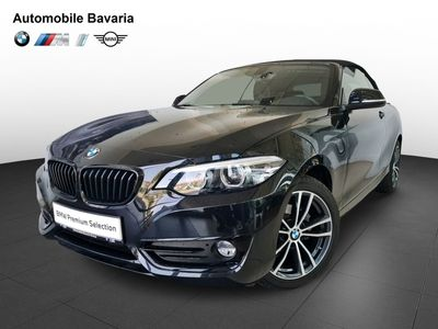 second-hand BMW 218 2 Series Convertible i Sport Line