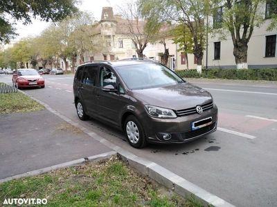 second-hand VW Touran 1.6 diesel, an 2012,full,automata (dsg), euro 5
