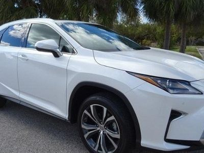 second-hand Lexus RX350 2017
