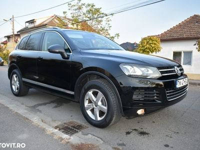 second-hand VW Touareg 3.0 TDi 204 CP 2012 Automatic