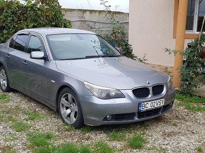 second-hand BMW 530 E60 d diesel 2005 înmatriculat ro cu fiscal